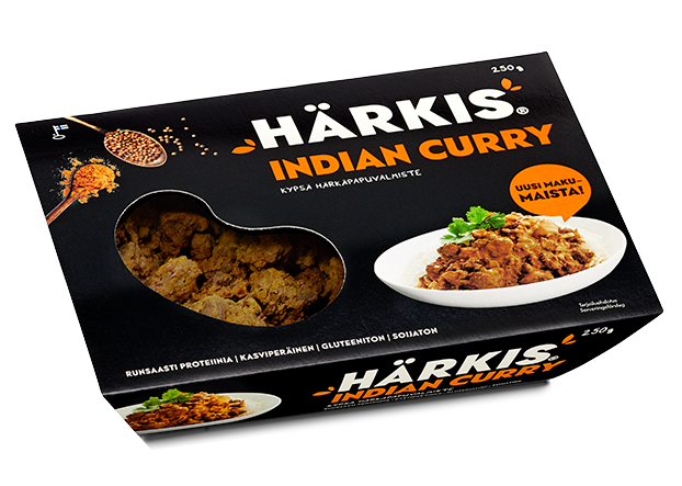 Härkis Indian curry - Beanit