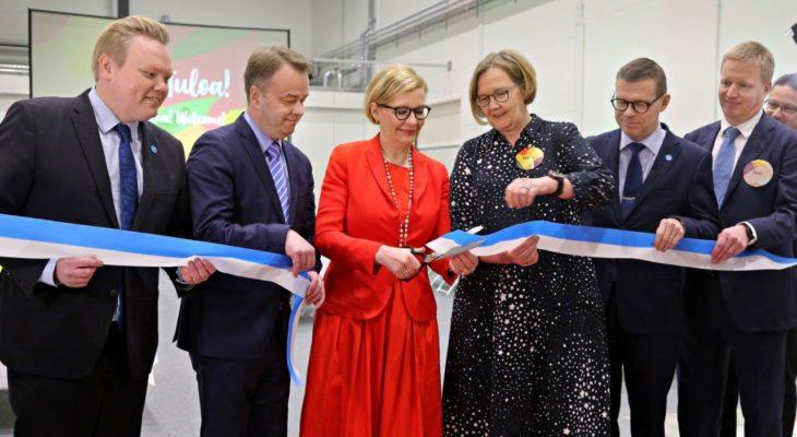 Verso Food opens its Kauhava production facility: new business model opens door to global markets