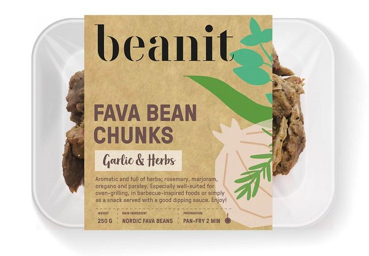 Beanit - Fava Bean Chunks - Garlic & Herbs