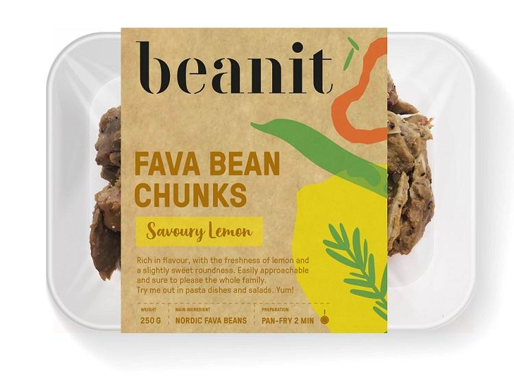 Beanit - Fava Bean Chunks - Savoury Lemon